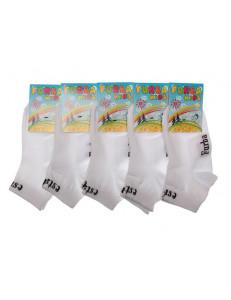 Носки детские укороченные белого цвета
